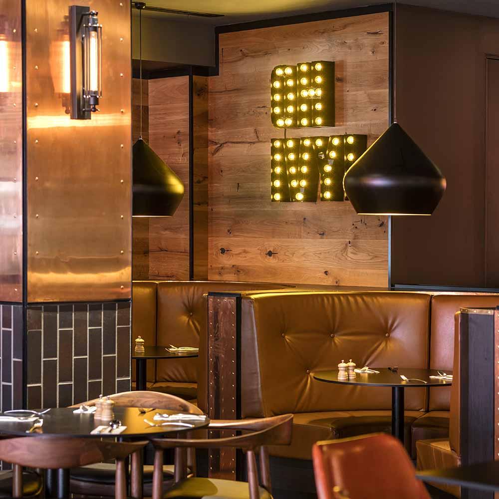 Ivy & Jack - interior design - urban industrial bar