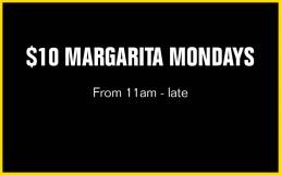 Margarita Mondays | Perth City Bar Drink Specials